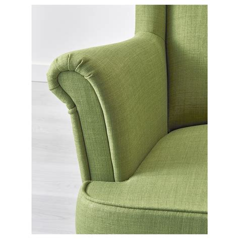 Strandmon Wing Chair Green by Strandmon Wing Chair Skiftebo Green Ikea