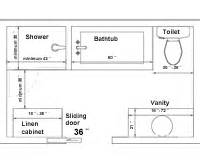 Bathroom Towel Bar Height by Bathroom Renovation Size Requirements Planning Guides