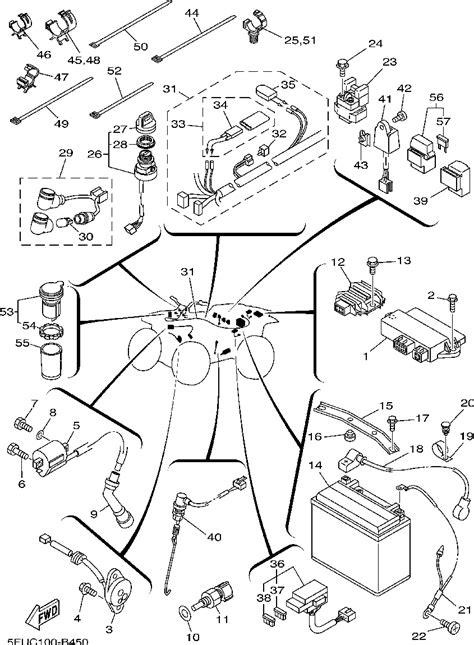 Yamaha 250 Tracker Wiring Diagram by Yamaha Tracker 250 Wiring Diagram Diagram Auto