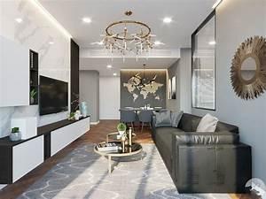 3d, apartment, interior, design, home