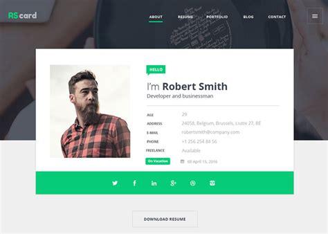 material design resumecv portfolio awwwards nominee