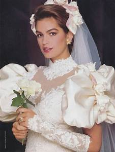 images 1986 model cindy crawford http 80s 90s With cindy crawford wedding dress
