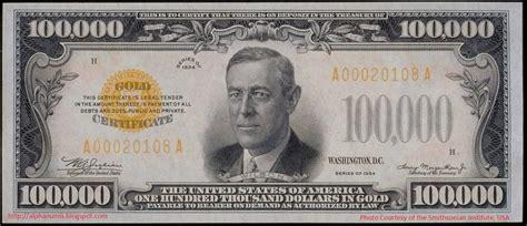 paper money gold certificate  olin