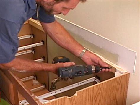 how to install bathroom cabinets and vanities how to replace a bathroom vanity how tos diy
