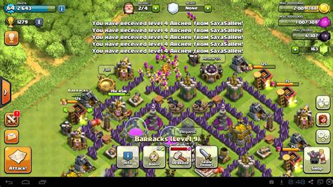 Clash of Clans Town Hall 7 Farming Guide TH7 Attack