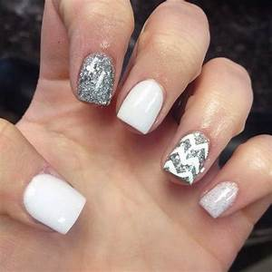 white cute nail designs - Google Search | Nail Ideas ...