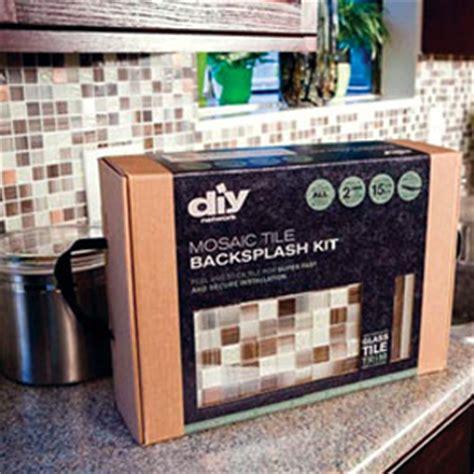 Adhesive Backsplash Tile Kit by Diy Backsplash Kit By Surfaces Southeast Inc 2012 09 04