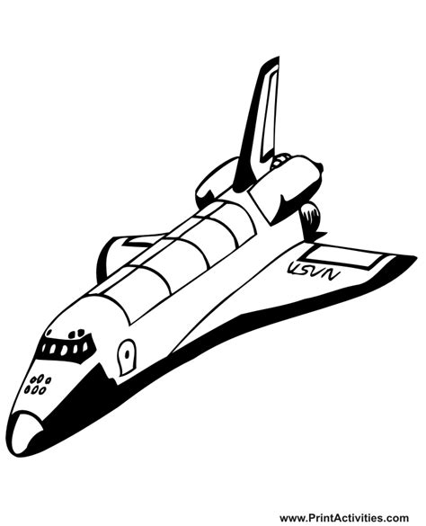 space shuttle clipart black and white space shuttle coloring pages az coloring pages
