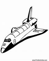 Shuttle Space Coloring Pages Clipart Realistic Spaceship Shuttles Stencil Colouring Spacecraft Stencils Nasa Clip Printables Printable Projects Usable Re Popular sketch template