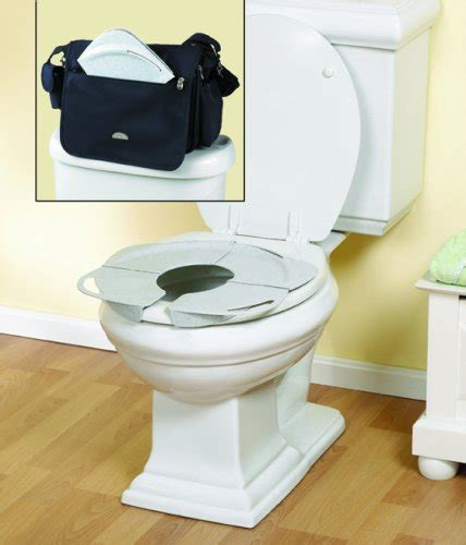 The Folding Potty Seat by Primo Products Inc Folding Potty Seat W Handles By Oj