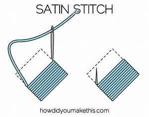 Satin Stitch - How Did You Make This? Luxe DIY