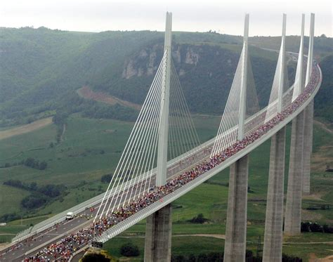 viaduc de millau prix s millau viaduct is seen running across the valleys of southern description from