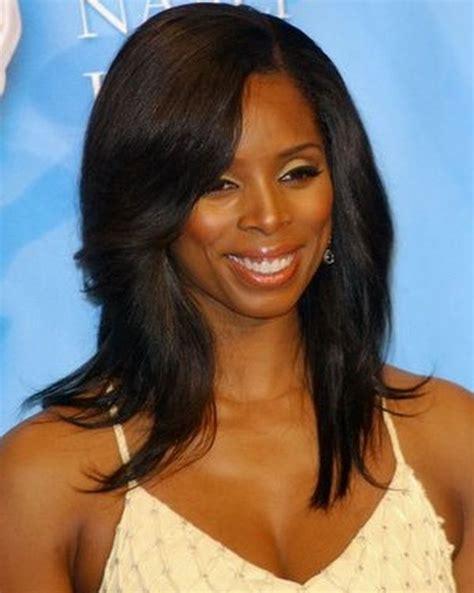 medium hairstyles  black women   bridesmaids