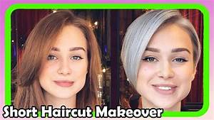 Beautiful Short Haircut Makeover #6 Extreme Hair Makeover ...