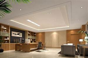 Modern Chinese style CEO office interior design with sofa