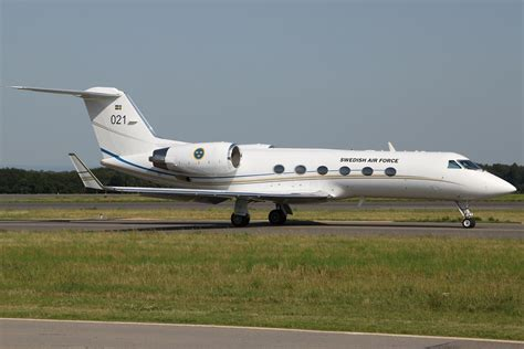 File Ee  Gulfstream Iv Ee   Sweden Air Force Lux Luxembourg