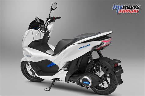 New Pcx 2018 Hybrid by Honda New Ground With Hybrid Scooter Mcnews Au
