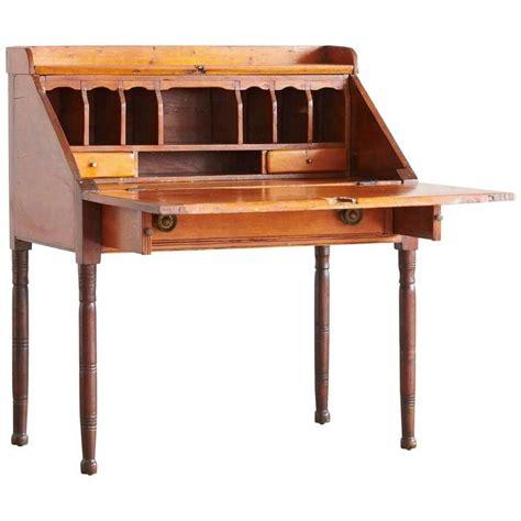 drop leaf secretary desk antique pine drop leaf secretary or desk at 1stdibs