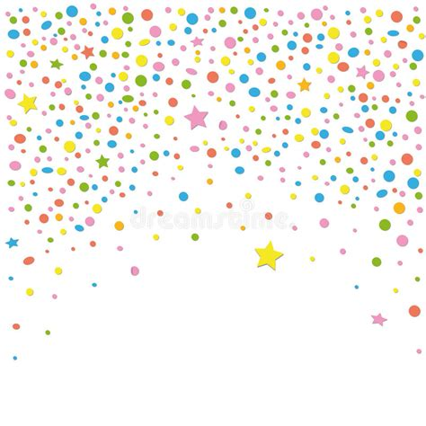 confetti backgound stock vector illustration  lucky