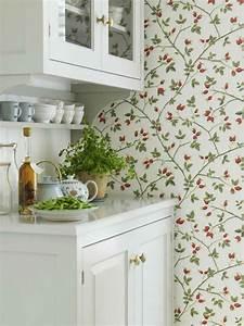 tienda online telas & papel Dale un cambio a tu cocina con un bonito papel pintado
