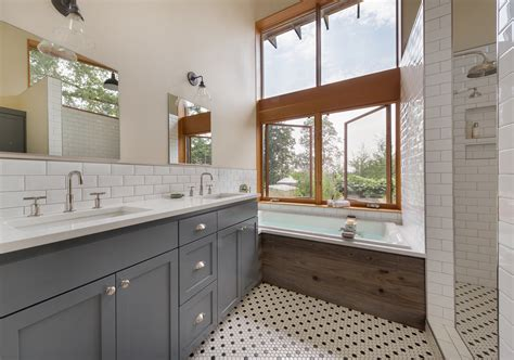 modern farmhouse bath suite remodelista