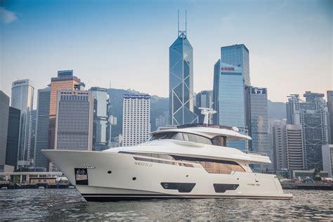 Sailing Boat Hong Kong by Super Yacht Navetta 28 By Custom Line In Hong Kong Yacht