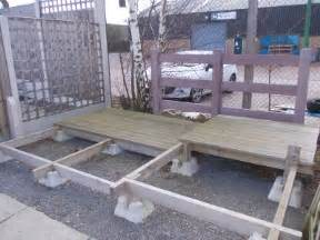 wrekin concrete products decking block garden footings