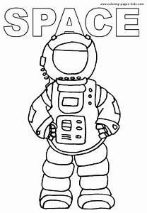 Astronaut Color Sheet Printables - Pics about space