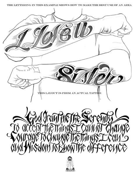 letters    volume  tattoo script lettering