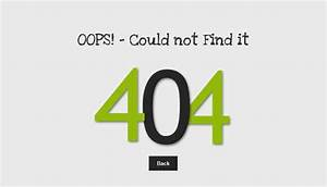 40 free html 404 error page website template freshdesignweb With 404 not found html template
