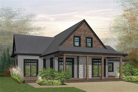 Northwest House Plan With First Floor Master