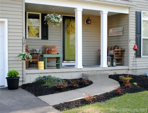 Small Front Porch Ideas, Front House Decorating