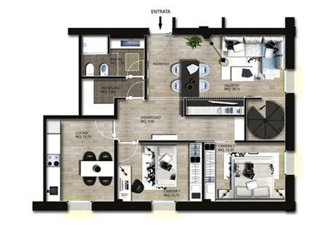 Colori Per Appartamenti Interni Progettazione Interni Appartamento Gg Progetti