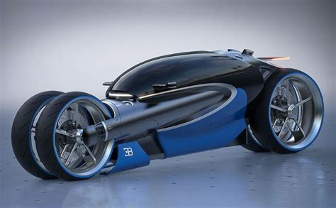 Future Cars Bugatti by Futuristic Driver Encapsulating Motorcycles Bugatti Type