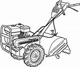 Coloring Pages Tractor Printable Lawn Mower Tractors Getdrawings sketch template