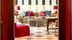 Bold Color Christopher Kennedy Modernism Showhouse by Color Ideas Traditional Home