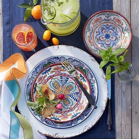 veracruz melamine dinner plates williams sonoma au