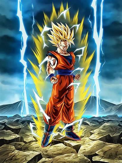 Goku Dragon Ball Saiyan Ssj2 Gt Manga