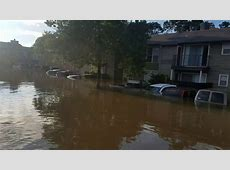Houston Flood 2017 Lakeside Place Apartments YouTube