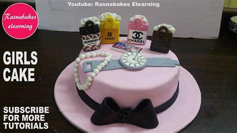 fondant teenage girls  women cake design