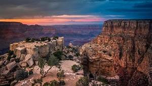 Sunset At The Grand Canyon Wallpaper - Nature Hd Wallpapers