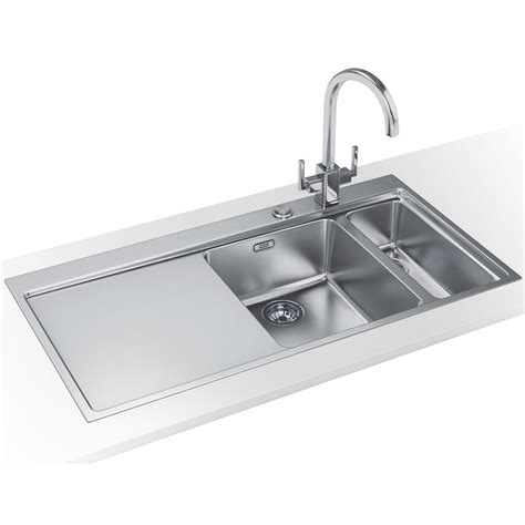 kitchen sink franke franke mythos slim top dp mmx 261 stainless steel sink and 2719