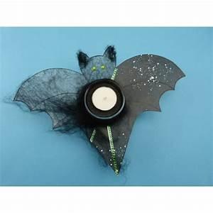 Halloween Deko Basteln : halloween deko mit feldermaus basteln eine gruselige ~ Lizthompson.info Haus und Dekorationen
