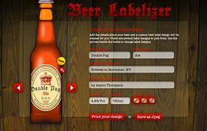 Ljcfyi jam and beer label makers for Beer label creator