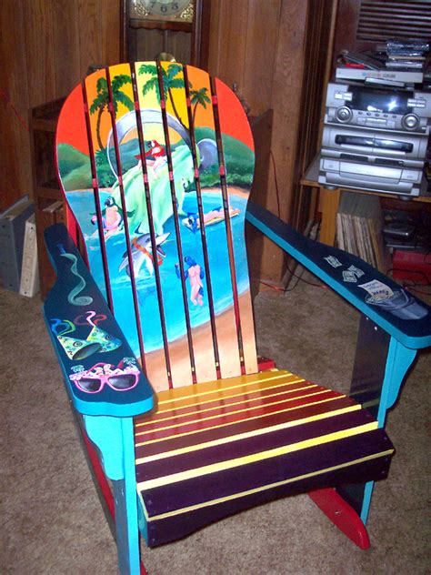 Custom Painted Margaritaville Adirondack Chairs Let S Get And Paint Adirondack Chairs Unique