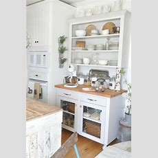 Rustic White Kitchen Pictures