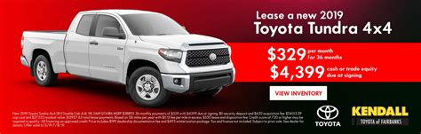 Toyota Of Kendall by Kendall Toyota Of Fairbanks New Toyota Used Car