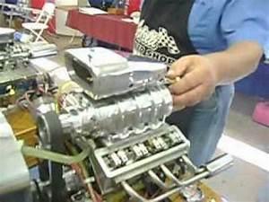Mini V8 Motor : miniature model blown blower v8 engine motor new youtube ~ Jslefanu.com Haus und Dekorationen