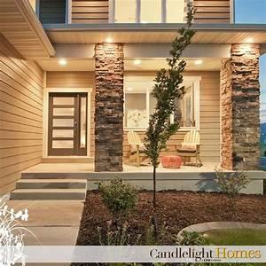 Exterior stone House finishings Pinterest Front