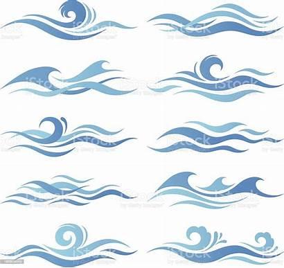 Waves Wave Vector Illustration Illustrations Clip Clipart